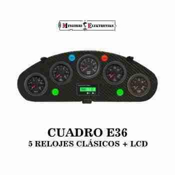 CUADRO RELOJES BMW E36 LED