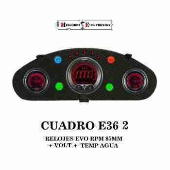 CUADRO RELOJES BMW E36 EVO.