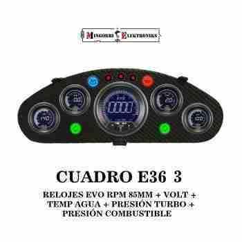 CUADRO BMW E36 RELOJES EVO