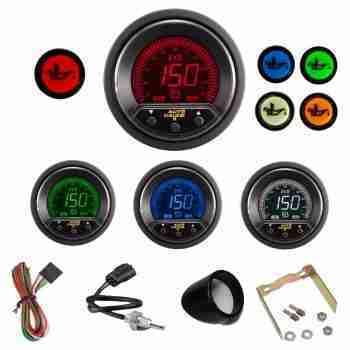 Reloj digital EVO AP de Temperatura de aceite con alarma.