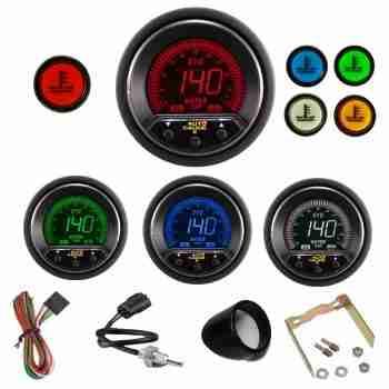 Reloj digital EVO AP de Temperatura de agua con alarma.