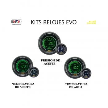 KITS DE RELOJES DIGITALES EVO