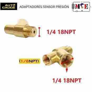 ADAPTADOR Y 1/4 18NPT