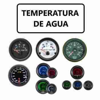 TEMPERATURA DE AGUA