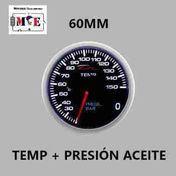 60MM TEMP + PRESIÓN ACEITE