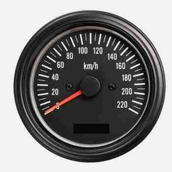 Velocímetro clásico de 85mm