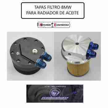 TAPAS FILTRO BMW RADIADOR ACEITE Y SENSORES
