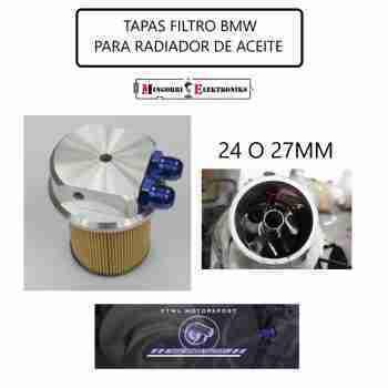 TAPA FILTRO RADIADOR ACEITE M50