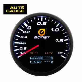 4 en 1 multifuncion Presion turbo aceite temperatura voltimetro