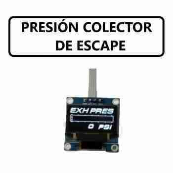 PRESIÓN DEL COLECTOR DE ESCAPE