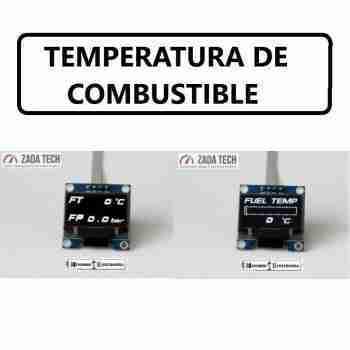 TEMPERATURA DE COMBUSTIBLE