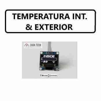 TEMPERATURA INTERIOR Y EXTERIOR